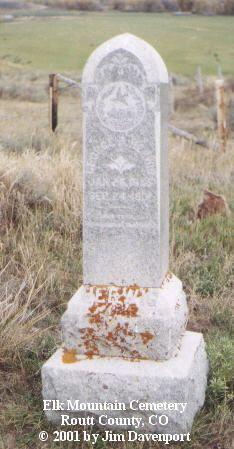 HERWIG, GEORGE D. - Routt County, Colorado | GEORGE D. HERWIG - Colorado Gravestone Photos
