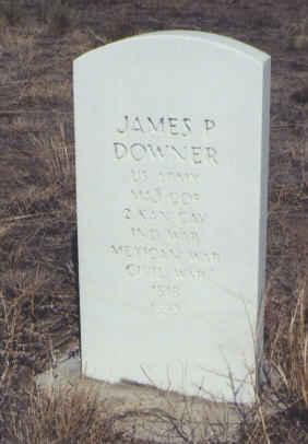 DOWNER, JAMES P. - Saguache County, Colorado | JAMES P. DOWNER - Colorado Gravestone Photos