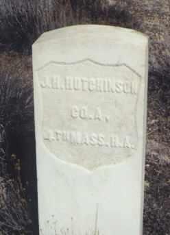 HUTCHINSON, J. H. - Saguache County, Colorado | J. H. HUTCHINSON - Colorado Gravestone Photos