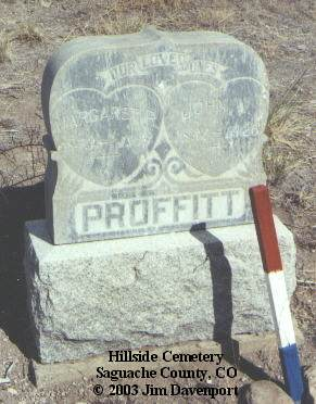 PROFFITT, MARGARET R. - Saguache County, Colorado | MARGARET R. PROFFITT - Colorado Gravestone Photos