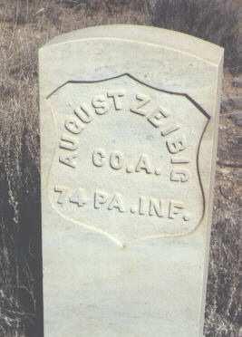 ZEIBIG, AUGUST - Saguache County, Colorado | AUGUST ZEIBIG - Colorado Gravestone Photos
