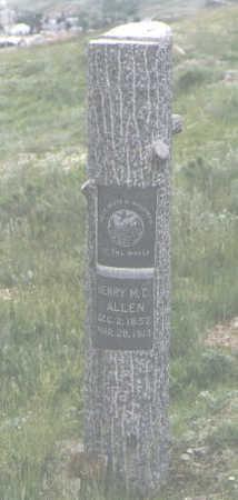 ALLEN, HENRY M. C. - San Juan County, Colorado | HENRY M. C. ALLEN - Colorado Gravestone Photos
