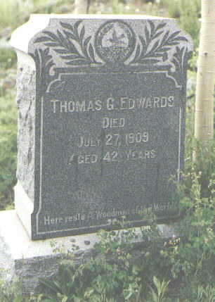 EDWARDS, THOMAS G. - San Juan County, Colorado | THOMAS G. EDWARDS - Colorado Gravestone Photos