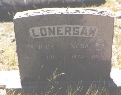 LONERGAN, NORA - San Juan County, Colorado | NORA LONERGAN - Colorado Gravestone Photos