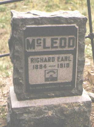 MCLEOD, RICHARD EARL - San Juan County, Colorado | RICHARD EARL MCLEOD - Colorado Gravestone Photos