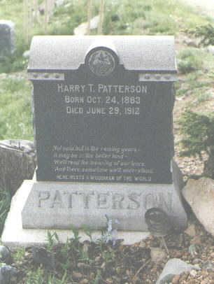 PATTERSON, HARRY T. - San Juan County, Colorado | HARRY T. PATTERSON - Colorado Gravestone Photos