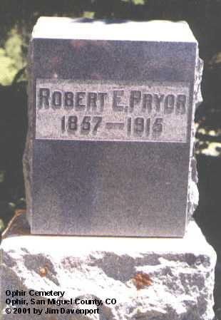 PRYOR, ROBERT - San Miguel County, Colorado | ROBERT PRYOR - Colorado Gravestone Photos