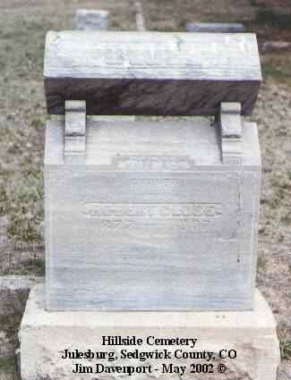 CLOSE, AMANDA - Sedgwick County, Colorado   AMANDA CLOSE - Colorado Gravestone Photos