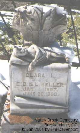 KELLER, CLARA L. - Summit County, Colorado | CLARA L. KELLER - Colorado Gravestone Photos