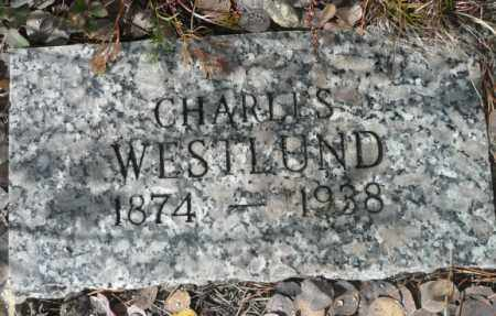 WESTLUND, CHARLES - Summit County, Colorado | CHARLES WESTLUND - Colorado Gravestone Photos