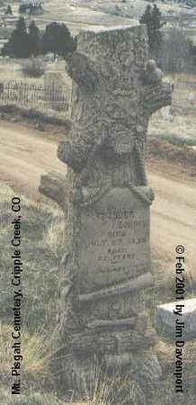 CORDER, ALEXANDER - Teller County, Colorado   ALEXANDER CORDER - Colorado Gravestone Photos
