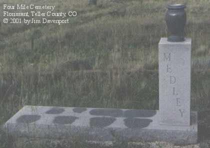 MEDLEY, FAMILY PLOT - Teller County, Colorado | FAMILY PLOT MEDLEY - Colorado Gravestone Photos