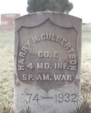 CULBERTSON, HARRY N. - Washington County, Colorado | HARRY N. CULBERTSON - Colorado Gravestone Photos