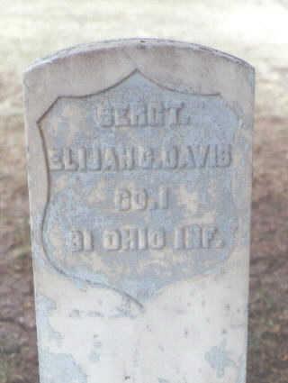 DAVIS, ELIJAH G. - Washington County, Colorado | ELIJAH G. DAVIS - Colorado Gravestone Photos