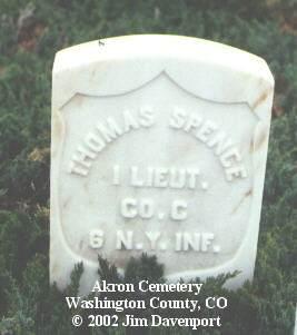 SPENCE, THOMAS - Washington County, Colorado   THOMAS SPENCE - Colorado Gravestone Photos