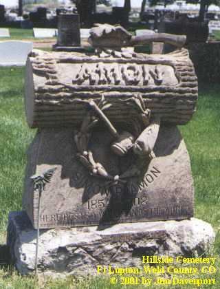AMON, SOMON - Weld County, Colorado | SOMON AMON - Colorado Gravestone Photos