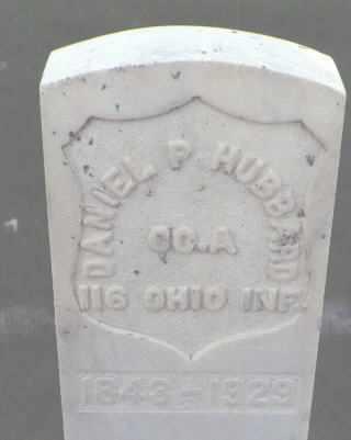 HUBBARD, DANIEL P. - Weld County, Colorado | DANIEL P. HUBBARD - Colorado Gravestone Photos