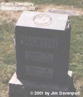 MARTIN, MARY M. - Weld County, Colorado | MARY M. MARTIN - Colorado Gravestone Photos