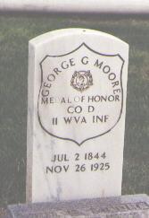 MOORE, GEORGE G. - Weld County, Colorado | GEORGE G. MOORE - Colorado Gravestone Photos