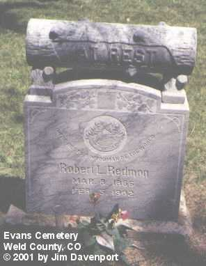 REDMON, ROBERT L. - Weld County, Colorado | ROBERT L. REDMON - Colorado Gravestone Photos