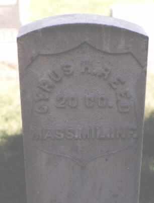 REED, CYRUS H. - Weld County, Colorado   CYRUS H. REED - Colorado Gravestone Photos