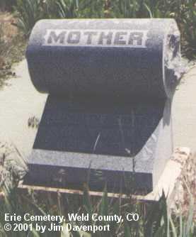 RICHARDS, ELIZABETH - Weld County, Colorado   ELIZABETH RICHARDS - Colorado Gravestone Photos