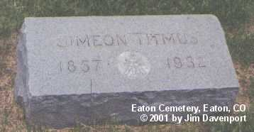 TITMUS, SIMEON - Weld County, Colorado | SIMEON TITMUS - Colorado Gravestone Photos