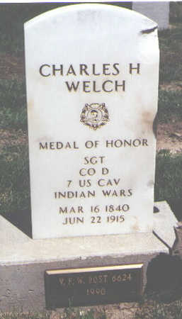 WELCH, CHARLES H. - Weld County, Colorado | CHARLES H. WELCH - Colorado Gravestone Photos