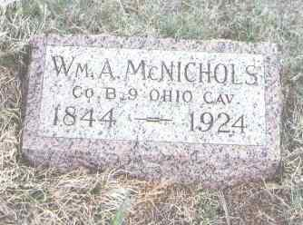 MCNICHOLS, WM. A. - Yuma County, Colorado | WM. A. MCNICHOLS - Colorado Gravestone Photos