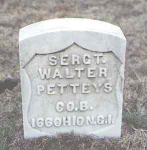 PETTEYS, WALTER - Yuma County, Colorado | WALTER PETTEYS - Colorado Gravestone Photos