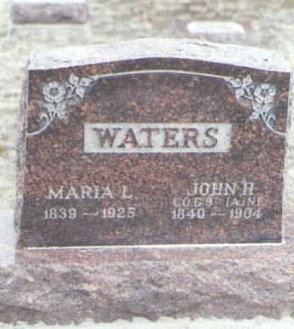 WATERS, MARIA L. - Yuma County, Colorado | MARIA L. WATERS - Colorado Gravestone Photos